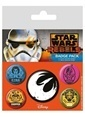Pyramid International Rozet Seti - Star Wars Rebels BP80480 Renkli